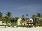 Caribbean Homes on Grace Bay Beach  Providenciales  Turks and Caicos Islands  West Indies