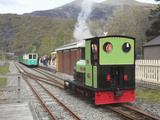 Lake Railway  Station  Llanberis  Gwynedd  Snowdonia  North Wales  Wales  United Kingdom  Europe