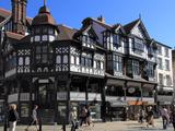 Bridge Street  Chester  Cheshire  England  United Kingdom  Europe