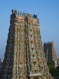Sri Meenakshi Temple  Madurai  Tamil Nadu  India  Asia
