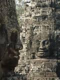 Bayon  Angkor Thom  Angkor Archaeological Park  UNESCO World Heritage Site  Siem Reap  Cambodia