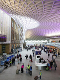 Western Concourse of King's Cross Station  London  England  United Kingdom  Europe