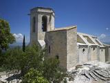 Notre-Dame-D'Alydon Church  Oppede-Le-Vieux  Petit Luberon  Provence  France  Europe