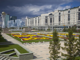 Nurzhol Bulvar  Kazakhstan&#39;s New Governmental and Administrative Zone  Astana  Kazakhstan