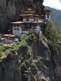 Taktshang Goemba (Tigers Nest Monastery)  Paro Valley  Bhutan  Asia