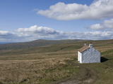 A Bothy on the Upper Slopes of the North Pennines  Cumbria  England  United Kingdom  Europe