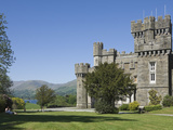 Wray Castle on Shore of Lake Windermere  Lake District Nat'l Park  Cumbria  England