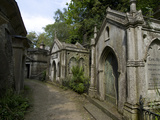 Egyptian Avenue  Highgate Cemetery West  Highgate  London  England  United Kingdom  Europe
