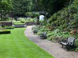 The Plantation Garden  Norwich  Norfolk  England  United Kingdom  Europe