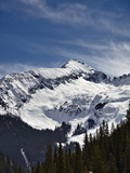 Hazleton Mountain in the Winter  San Juan Mountains  Colorado  USA  North America