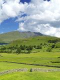 Blencathra  Lake District National Park  Cumbria  England  United Kingdom  Europe