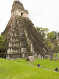 Tikal National Park (Parque Nacional Tikal)  UNESCO World Heritage Site  Guatemala  Central America