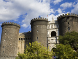 Maschio Angioino (Castle Nuovo)  Naples  Campania  Italy  Europe