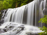 Sgwd Isaf Clun Waterfall  Brecon Beacons  Wales  United Kingdom  Europe