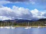 Ambleside  Lake Windermere  Lake District National Park  Cumbria  England  United Kingdom  Europe