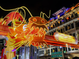 Chinese New Year Celebrations  New Bridge Road  Chinatown  Singapore  Southeast Asia  Asia