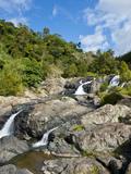 Waterfalls of Ciu on the East Coast of Grande Terre  New Caledonia  Melanesia  South Pacific