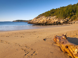 Sandy Beach  Acadia National Park  Mount Desert Island  Maine  New England  USA  North America