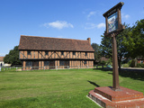 The 15th Century Moot Hall  Elstow  Bedfordshire  England  United Kingdom  Europe