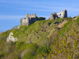 Penmaen Castle  Gower  Wales  United Kingdom  Europe