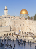Jewish Quarter of Western Wall Plaza and Dome of Rock  UNESCO World Heritage Site  Jerusalem Israel