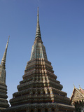 Chedi at Wat Po (Wat Phra Chetuphon)  Bangkok  Thailand  Southeast Asia  Asia