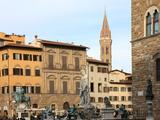 Piazza della Signoria  Florence  UNESCO World Heritage Site  Tuscany  Italy  Europe