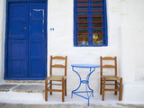 Langada Village  Amorgos  Cyclades  Aegean  Greek Islands  Greece  Europe