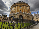 The Radcliffe Camera (Round Palladian Style Library Built in 1748)  Oxford  Oxfordshire  England