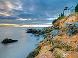 Bass Harbor Head Lighthouse  Bass Harbor  Mount Desert Island  Acadia Nat'l Park  Maine  USA