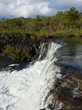 The Waterfalls Chutes de La Madeleine  South Coast of Grande Terre  New Caledonia  South Pacific