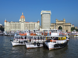 Waterfront with Taj Mahal Palace and Tower Hotel and Gateway of India  Mumbai (Bombay)  India
