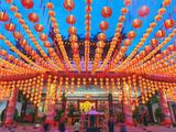 Thean Hou Chinese Temple  Kuala Lumpur  Malaysia  Southeast Asia  Asia