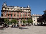 Plaza del Castillo  Pamplona Iruna Navarre  Spain