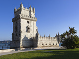 Torre de Belem  UNESCO World Heritage Site  Belem  Lisbon  Portugal  Europe