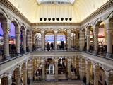 Interior  Magna Plaza Shopping Centre  Amsterdam  Holland  Europe