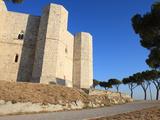 Castel del Monte (Federico II Castle)  UNESCO World Heritage Site  Puglia  Italy  Europe