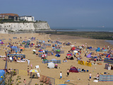 Joss Bay  Broadstairs  Kent  England  United Kingdom  Europe