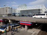 Amsterdam Sloterdijk Station  Amsterdam  Holland  Europe