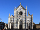 Santa Croce Church  Florence  UNESCO World Heritage Site  Tuscany  Italy  Europe