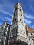 Giotto Bell Tower and Santa Maria del Fiore Cathedral  Florence  UNESCO World Heritage Site  Italy