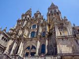 Cathedral  Santiago de Compostela  Galicia  Spain
