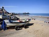 Fishing Boats on the Beach at Cromer  Norfolk  England  United Kingdom  Europe