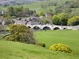 The Village of Burnsall in Wharfedale  Yorkshire Dales  Yorkshire  England  United Kingdom  Europe