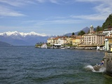 Spring Sunshine in Bellagio  Lake Como  Lombardy  Italian Lakes  Italy  Europe