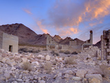 Rhyolite Ghost Town  Beatty  Nevada  United States of America  North America