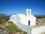 Church  Asfodilitis Village  Amorgos  Cyclades  Aegean  Greek Islands  Greece  Europe