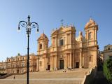 Duomo  Noto  Sicily  Italy  Europe