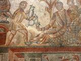 Mosaic  Villa Romana del Tellaro  Noto  Sicily  Italy  Europe