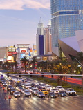 Hotels and Casinos Along the Strip  Las Vegas  Nevada  United States of America  North America